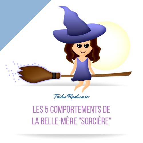 les 5 comportements de la belle-mère sorcière